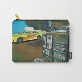 New York Taxi Carry-All Pouch