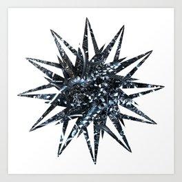 Metal Star Art Print