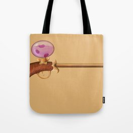 Rose Water Pistol Tote Bag