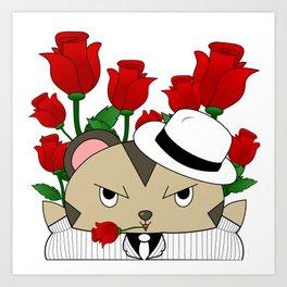 Romantic Mole Capone Art Print