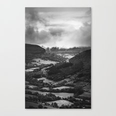 Forests and Storms - Black and White Collection Canvas Print