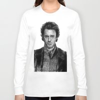 sherlock holmes Long Sleeve T-shirts featuring Sherlock Holmes by ChrisPastel