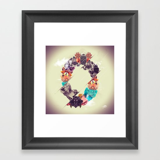 Chrysocolla Framed Art Print