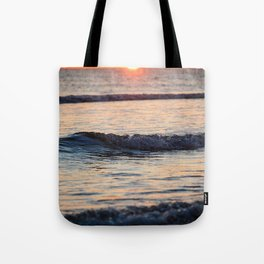 Color of the Waves Tote Bag