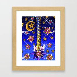 Fusion Keyblade Guitar #164 - Starlight & Star Seeker Framed Art Print