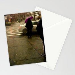 Rainy City Corner Stationery Cards