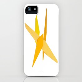 Abstract Re-Created Painting in Space iPhone Case