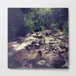 El bosque Metal Print