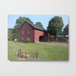 Leather Smith Farm - Color Metal Print