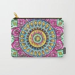 Mandala Technicolor Carry-All Pouch