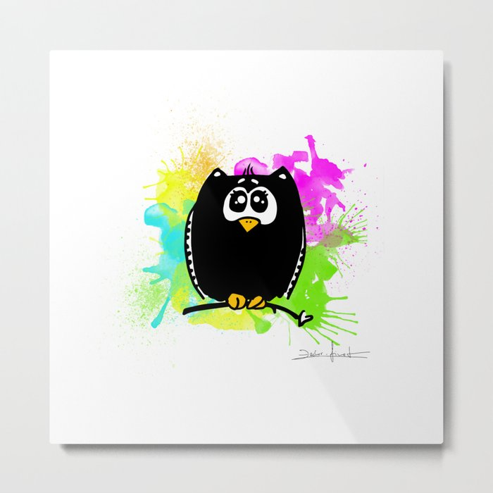 The owl without name Metal Print