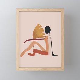 Gracefully Resting Framed Mini Art Print