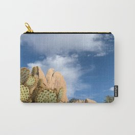 Joshua Tree Cactus Carry-All Pouch