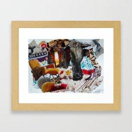 megève Framed Art Print