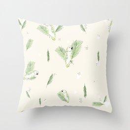 tete Throw Pillow