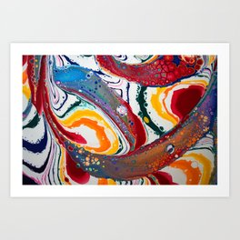 Rainbow Flow Art Print