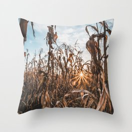 This Is Corn. Throw Pillow
