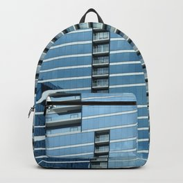 BLUE CHICAGO - CLEANING WINDOWS Backpack