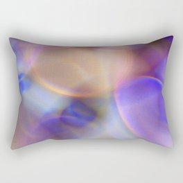 multi rings abstract 1 Rectangular Pillow