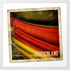 STICKER OF GERMANY flag Art Print