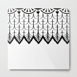 GRANDMOTHER'S CROCHET #2 Metal Print