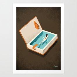 Floating Kunstdrucke