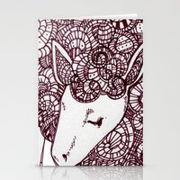sheep Stationery Cards featuring Sheep by Monique Turchan