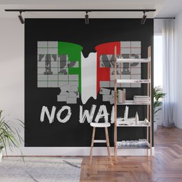 No wall TRUMP Wall Mural
