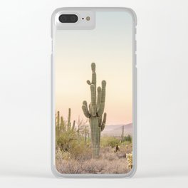 Arizona Desert Clear iPhone Case