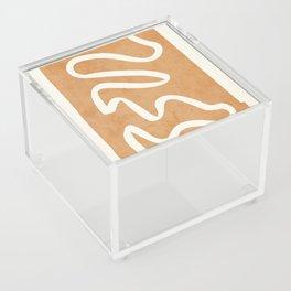 abstract minimal 31 Acrylic Box