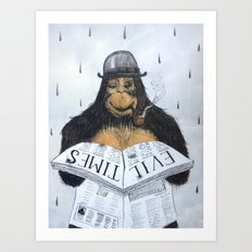 Read No Evil Art Print