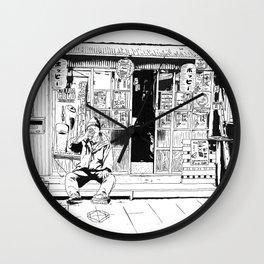 tokyo drinker Wall Clock