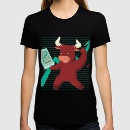 Bull Aktien T-shirt