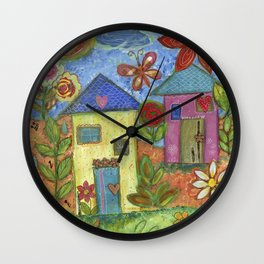 The Home I Dreamed Of Wall Clock