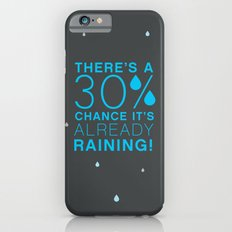 There's a 30% chance that it's already raining.- Quote from the movie Mean Girls iPhone 6s Slim Case