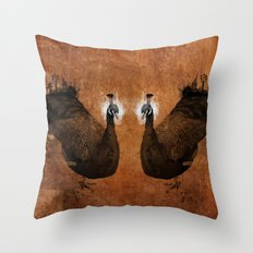 Cosmophores Throw Pillow