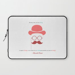 Hercule Poirot Laptop Sleeve