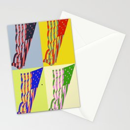 American Flag - Pop Art Stationery Cards