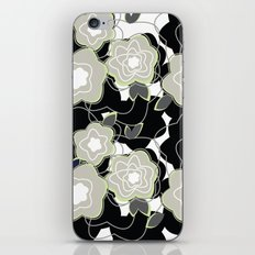 Mysterious Night - Flowers by SewMoni iPhone Skin