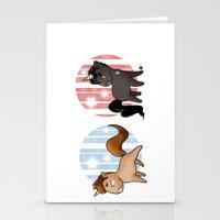 unicorns Stationery Cards featuring Unicorns by Sunshunes