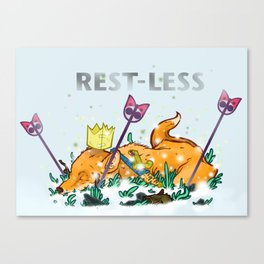 Rest-Less Canvas Print