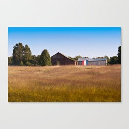 They bought the farm Canvas Print