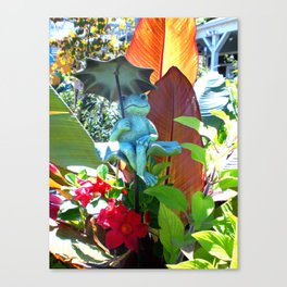 Garden of Happiness Canvas Print