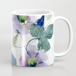 Purple Flowers 2 Coffee Mug