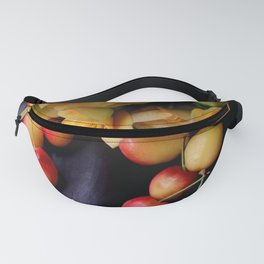 Cherry Gold Fanny Pack