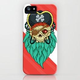 Pixel Pirate iPhone Case