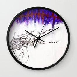 It Tore Through Us Wall Clock