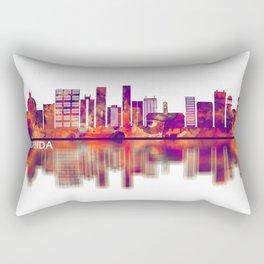 Luanda Angola Skyline Rectangular Pillow