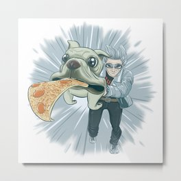 Quicksilver and Dog Metal Print