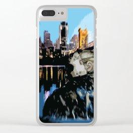 JGoestoTheNasty Clear iPhone Case